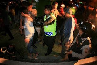Dua Anggota Geng Motor Pelaku Pengeroyokan Brutal Diringkus