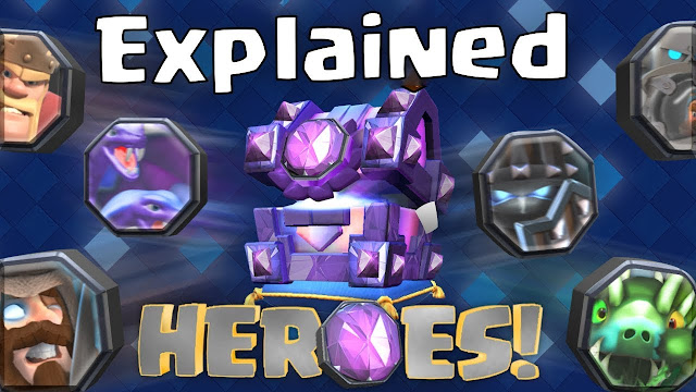 Nueva carta heroes Clash royale