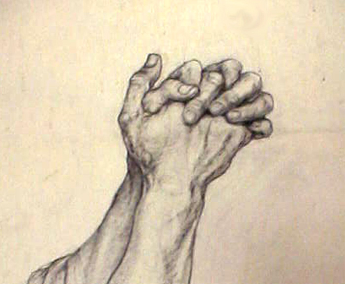 Beautiful Drawing Hands Print Photos, Beautiful Drawing