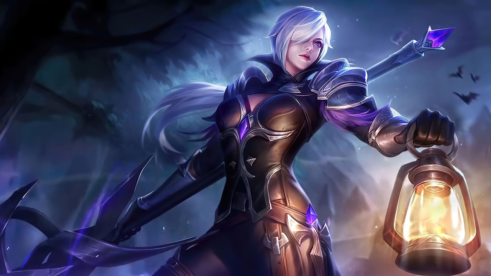 Wallpaper Silvanna Midnight Justice Skin Mobile Legends HD for PC
