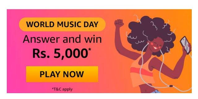 Amazon World Music Day Quiz