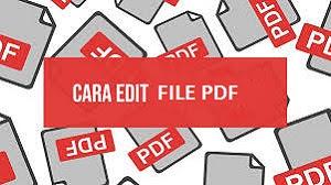 Cara Edit File PDF