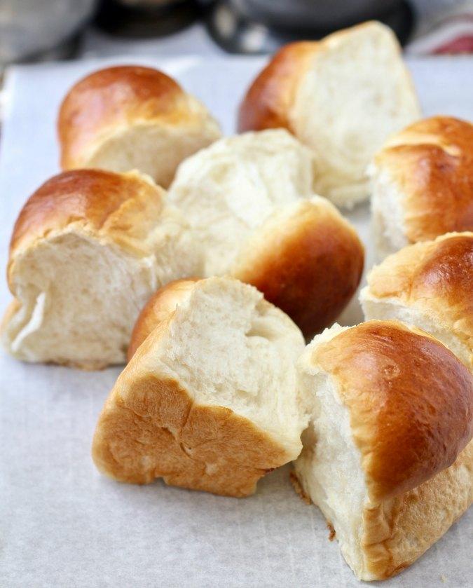 Japanese Hokkaido Milk Bread Rolls