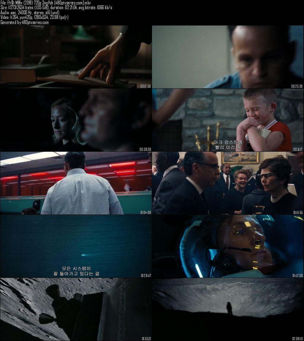 First Man (2018) 1GB Full English Movie Download 720p HC