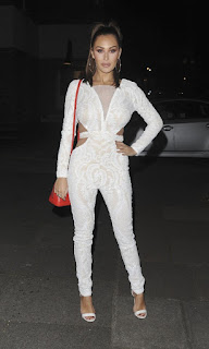 Chloe Goodman and Lauryn Goodman Night Out London