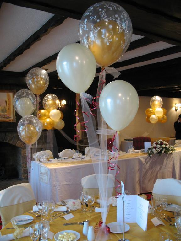 La guarida de bam decorar con globos - Globos para decorar ...