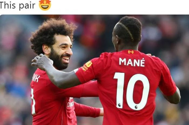 Having faced Liverpool, Arsenal loan players consider Mohamed Salah and Sadio Mane an ordinary person
