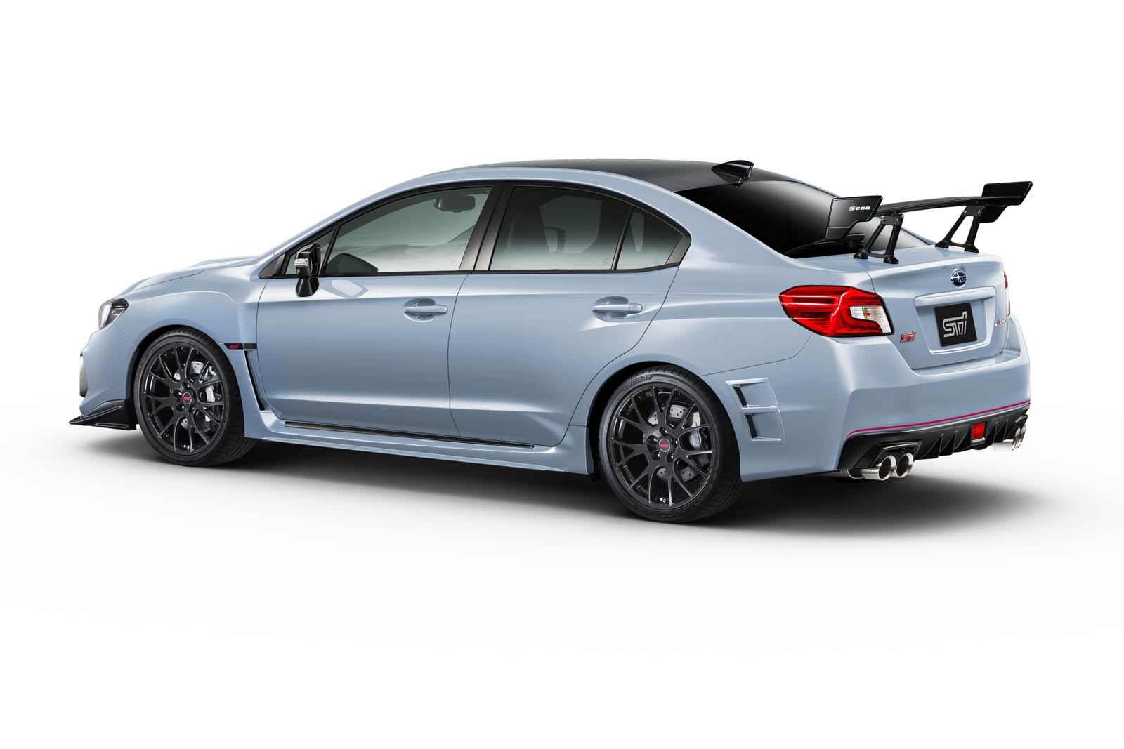 subaru wrx sti s208 is a 324 hp japanese beast carscoops. Black Bedroom Furniture Sets. Home Design Ideas