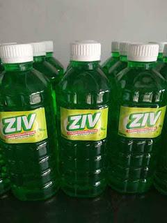 Jual Sabun Cuci Piring Cair Harga Murah Kemasan Botol (ZIV) Ekstrak Jeruk Nipis