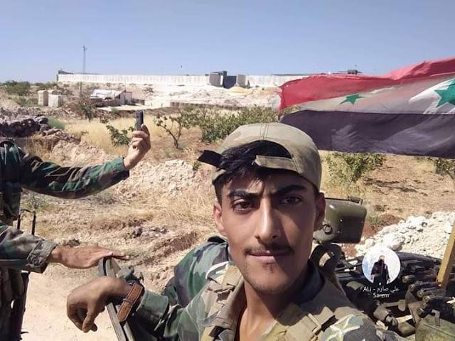 الجيش السوري النظامي ينتشر في بلدات ريف حماة الشمالي بعد انسحاب فصائل المعارضة