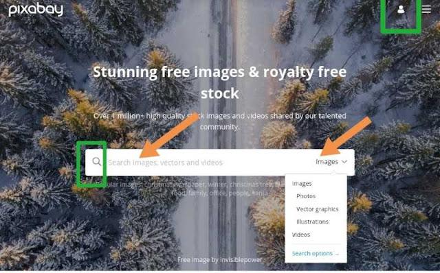 pixabay se free image or photos kaise download kare