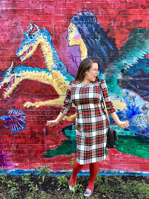 Hell Bunny doralee plaid dress