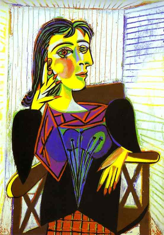 Chin Colle: Picasso Style Portraits