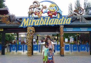 Entrada de Mirabilandia.