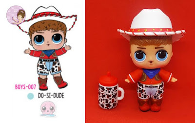 Do-Si-Dude male doll in cowboy style