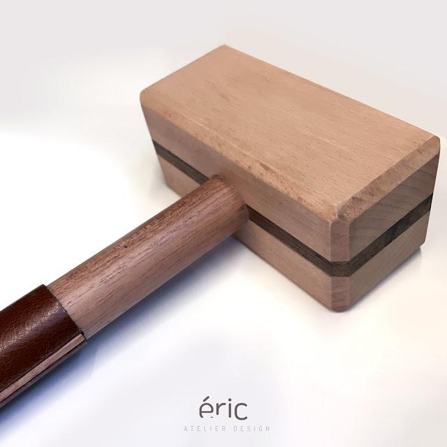Fabrication d'un maillet traditionnel en bois