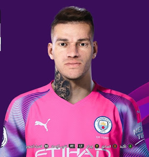 PES 2020 Faces Ederson by So PES