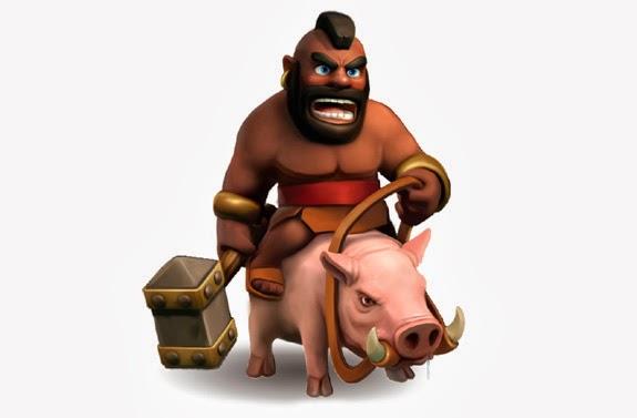 Clash Of Clans Hog Rider Levels