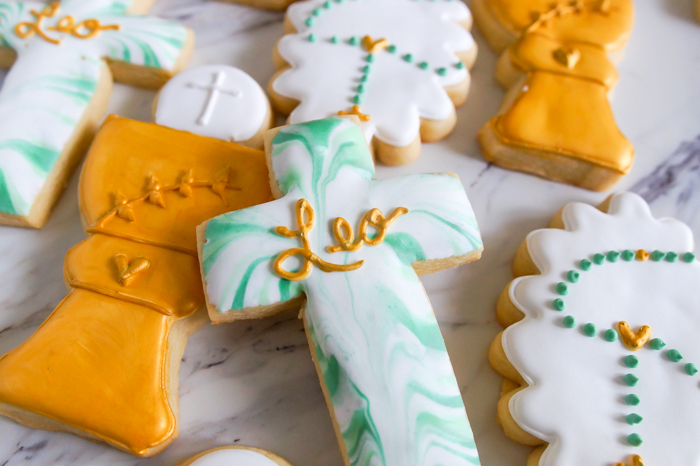 First Communion Decorated Cookies