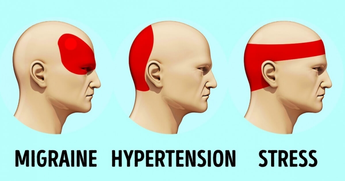 An Effective Way To Naturally Stop A Headache In Only Five Minutes