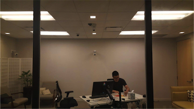 Alvin in a conference room