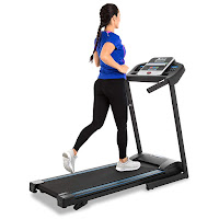 Xterra Fitness TR150 Treadmill, review features compared with TR300 folding treadmill