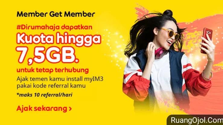 Kode referral Indosat terbaru