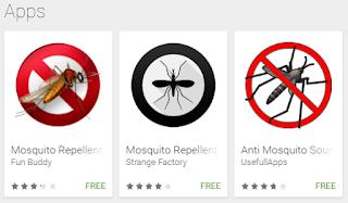 मच्छर भगाने वाले मोबाइल एप