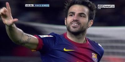 LFP-Week-30 : Barcelona 5 vs 0 Real Mallorca 06-04-2013