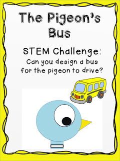 Pigeon bus challenge Lisa Robles