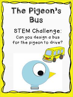 Pigeon bus challenge Lisa Robles