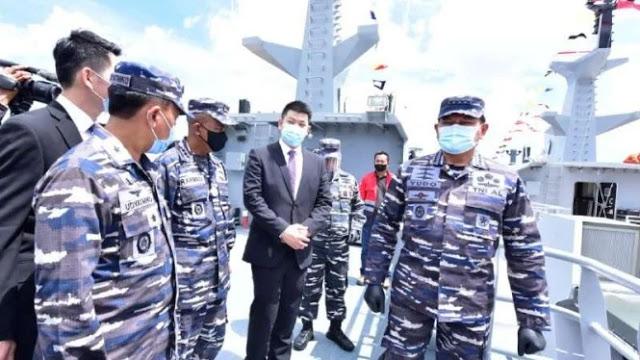 TNI AL Luncurkan 2 Kapal Perang Baru untuk Perkuat Perairan Indonesia