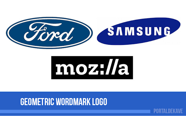 Geometric Wordmark Logo