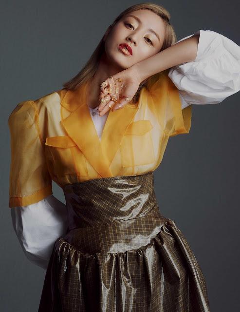 Twice Jihyo allure magazine