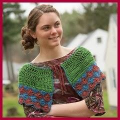 Capelina a crochet