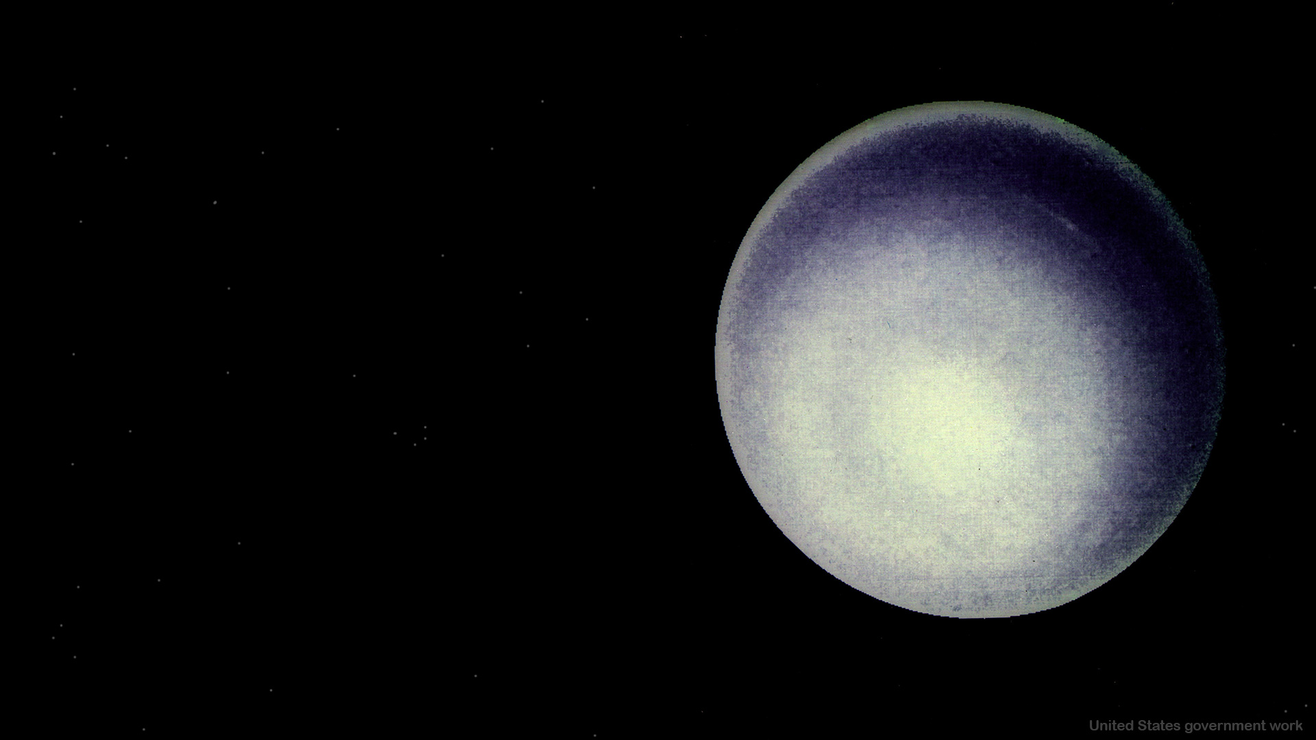 Planet Uranus Background