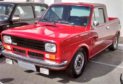 Fiat 147 Pick Up de 1980 ou 1981. Uma versão que valoriza ao longo dos anos.