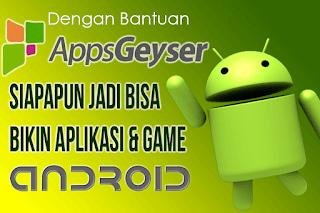mudah Membuat aplikasi dan game Android tanpa bahasa pemerograman