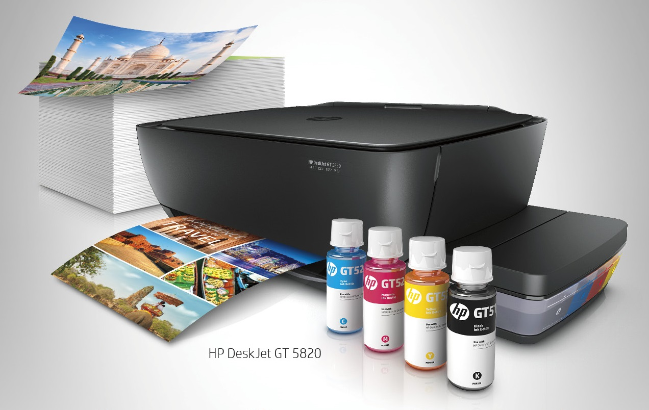 P1000 price off and free ink with your HP Deskjet GT Printer Purchase