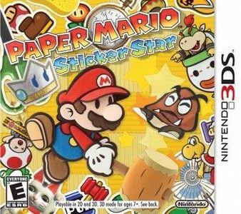 Rom Paper Mario Sticker Star 3DS