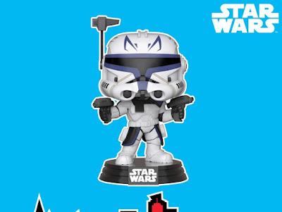 New York Comic Con 2018 Exclusive Star Wars: The Clone Wars Captain Rex Pop! Vinyl Figure by Funko