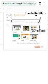 Google-par-website-kaise-banaye-in-Hindi