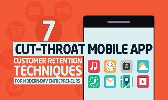 7 Cut-Throat Mobile App Customer Retention Techniques For Modern-Day #infographic