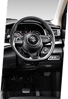 STEERING WHEEL WITH BLUETOOTH PHONE CONNECTION (ALPHA & BETA)
