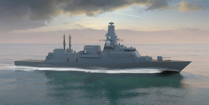 BAE Systems and Dell Technologies innovate for UK Naval Defence