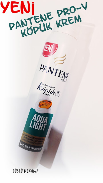 pantene en iyi saç kremi aqua  light