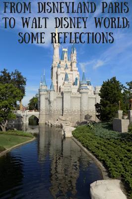A Disneyland Paris fan visiting Walt Disney World