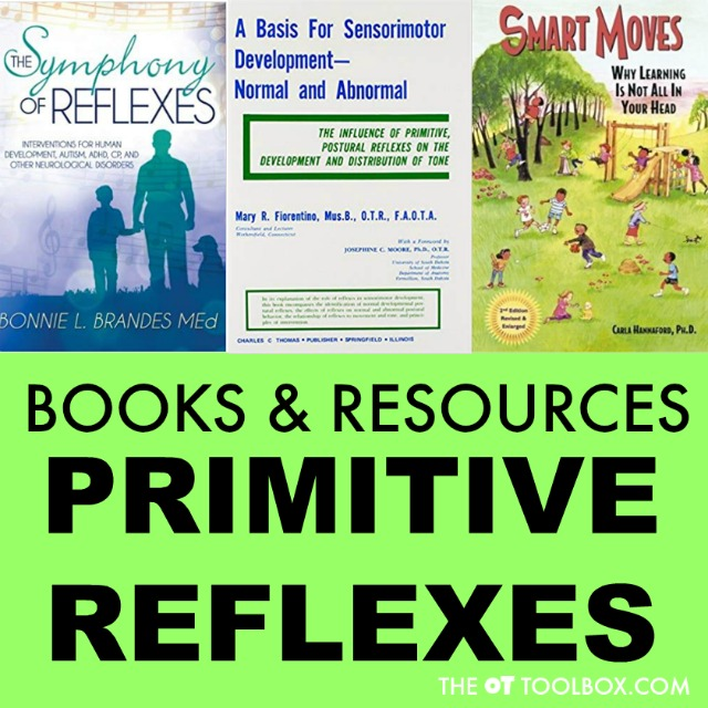 Use these books about primitive reflex integration to learn more about reflexes and reflex integration
