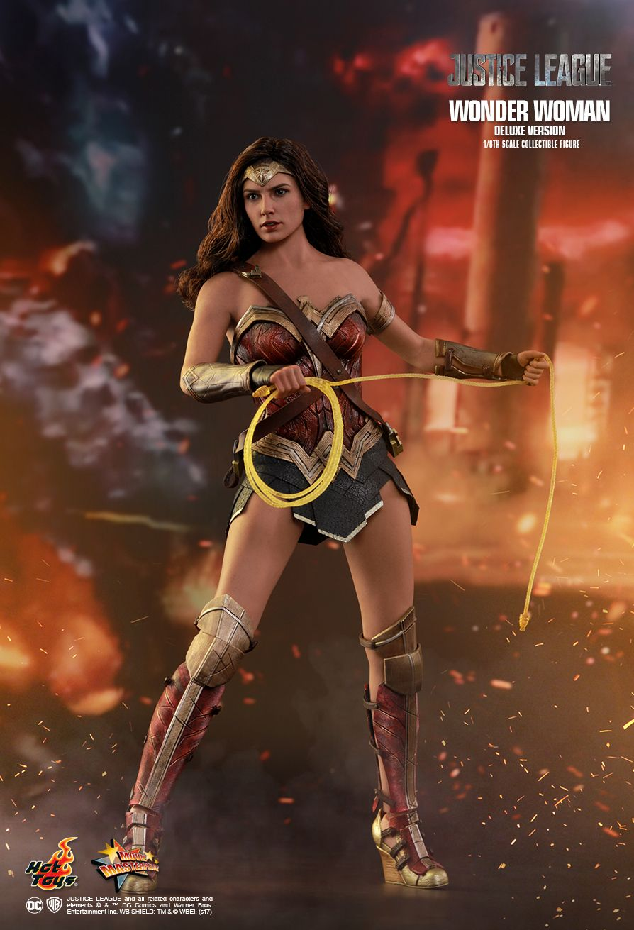 Toyhaven Hot Toys 16Th Scale Justice League Wonder Woman -3719