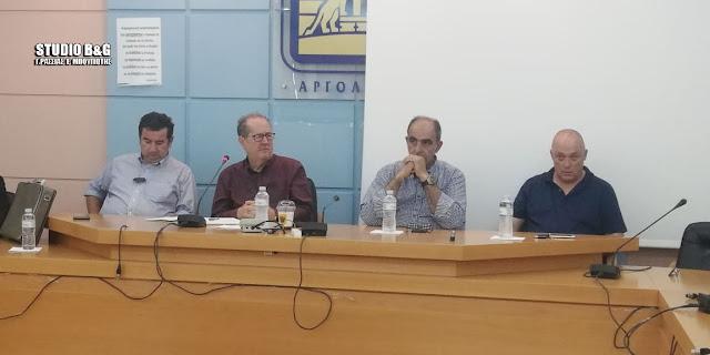 Σύσκεψη στην Αργολίδα του Παναγιώτη Νίκα με φορείς του νομού